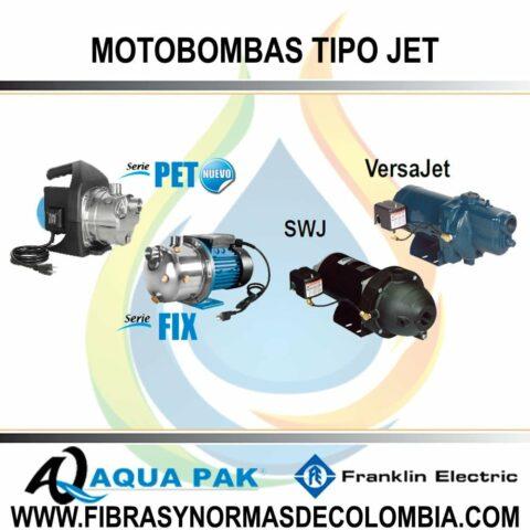 MOTOBOMBAS TIPO JET