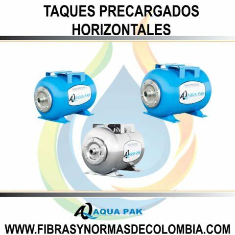 TANQUES PRECARGADOS HORIZONTALES