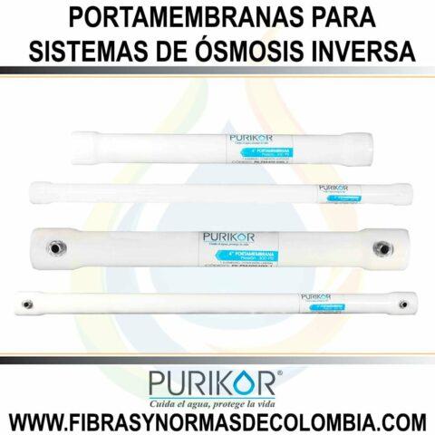 PORTAMEMBRANAS PARA SISTEMAS DE ÓSMOSIS INVERSA (COMERCIAL / INDUSTRIAL).